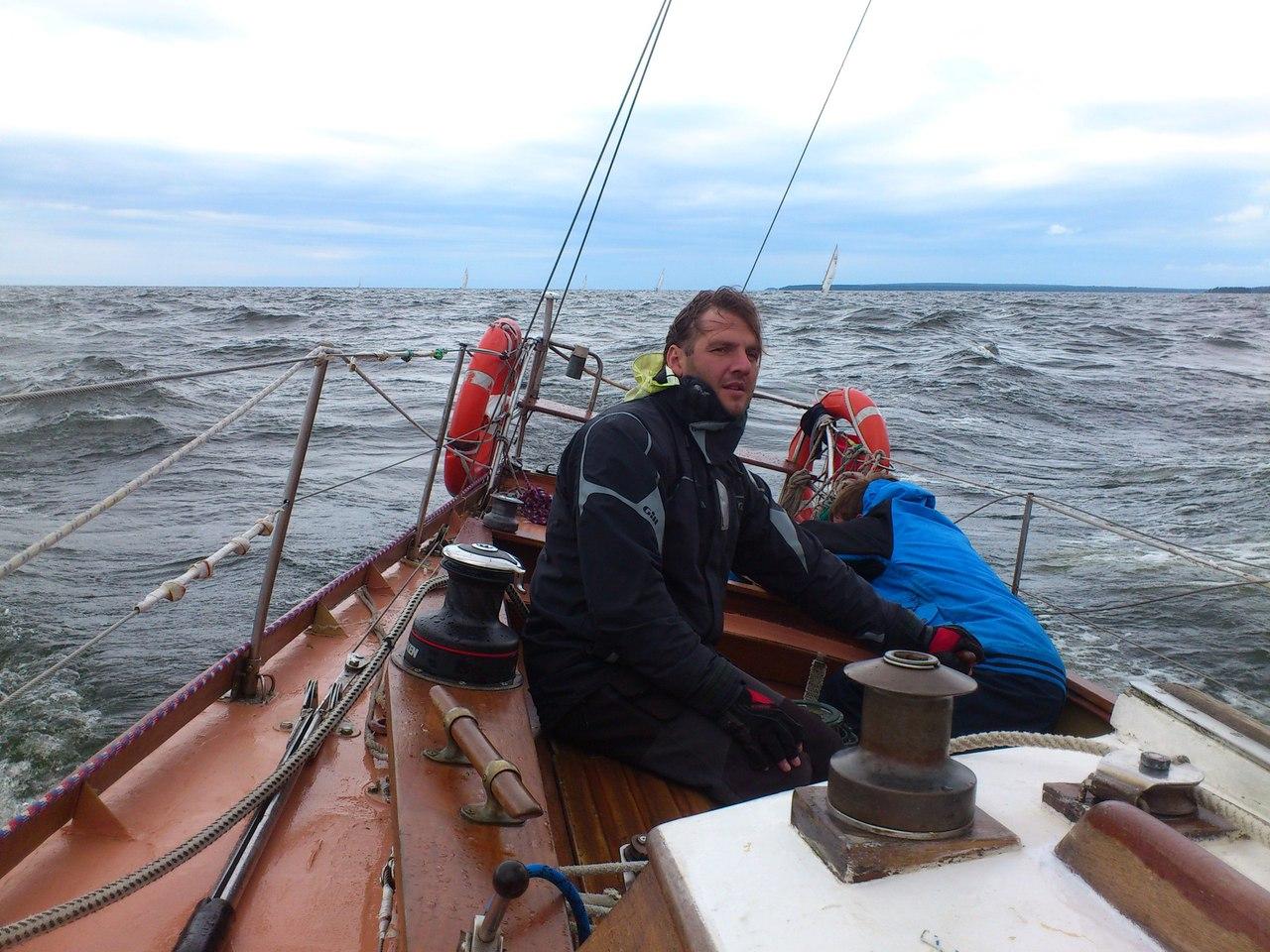 Фото экипажа яхты Варяг с разрешения Максима Церуняна